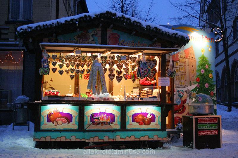 Weihnachtsmarkt in Alfeld (Leine)
