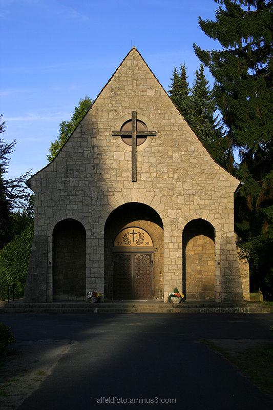 Kapelle auf dem Friedhof in Alfeld (Leine)