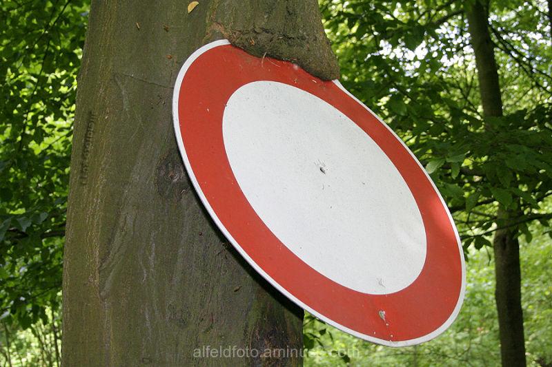 Verbot für Fahrzeuge alle Art im Leinebergland