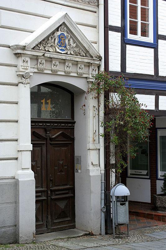 Haustür in Alfeld (Leine)