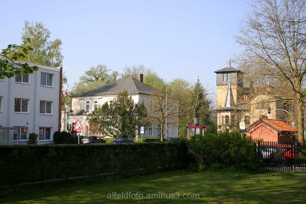 Die Hildesheimer Strasse in Alfeld (Leine)