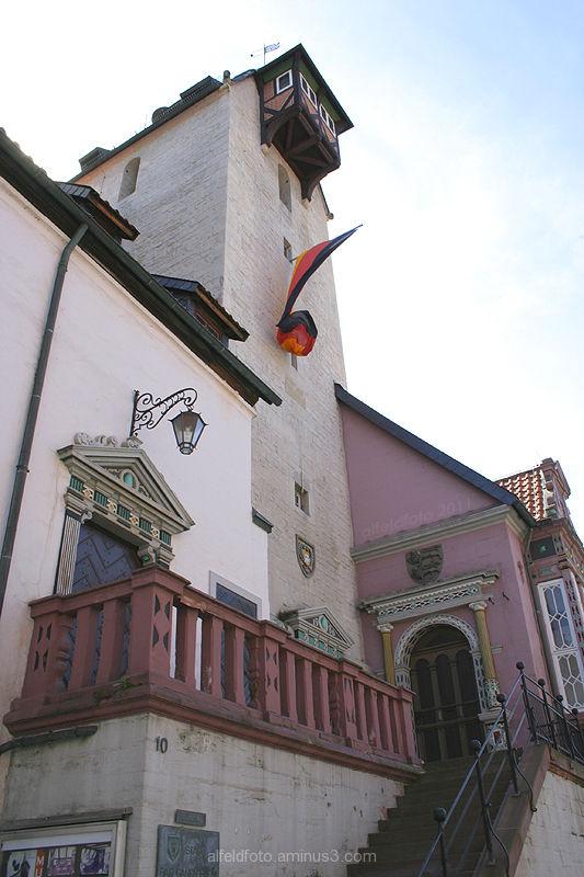 Rathaus in Bad Gandersheim im Leinebergland