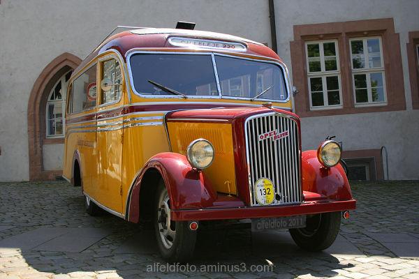 Alt-Opel Treffen in Alfeld (Leine)