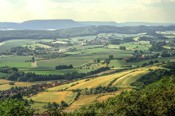 Das Leinebergland bei Alfeld (Leine)