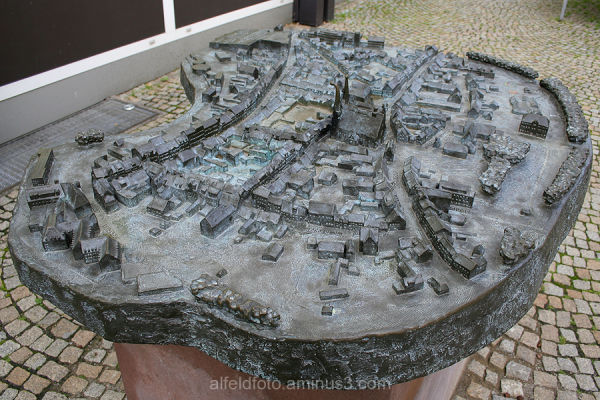 Stadtplan für die Hände in Alfeld (Leine)