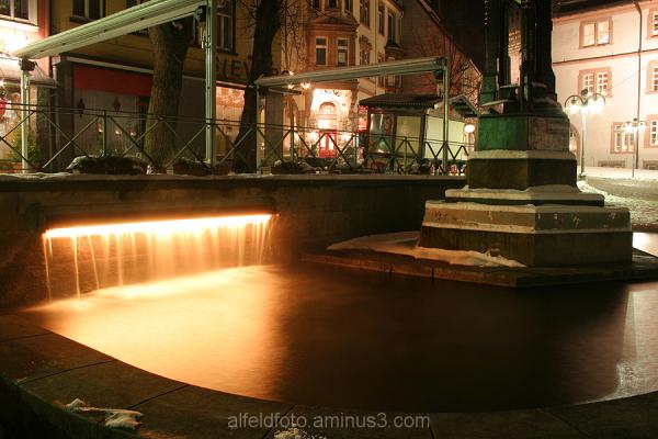 Brunnen auf dem Marktplatz in Alfeld (Leine)