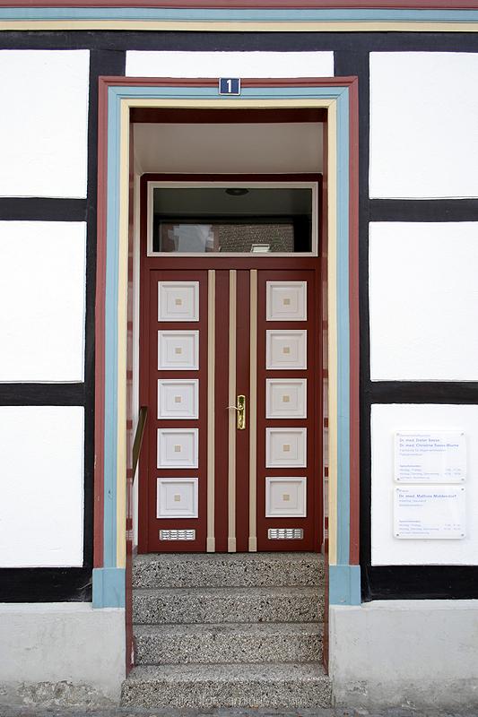 Haustür I in Alfeld (Leine)