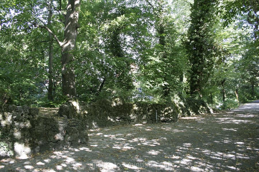 Der Stadtpark in Alfeld, impressionistisch