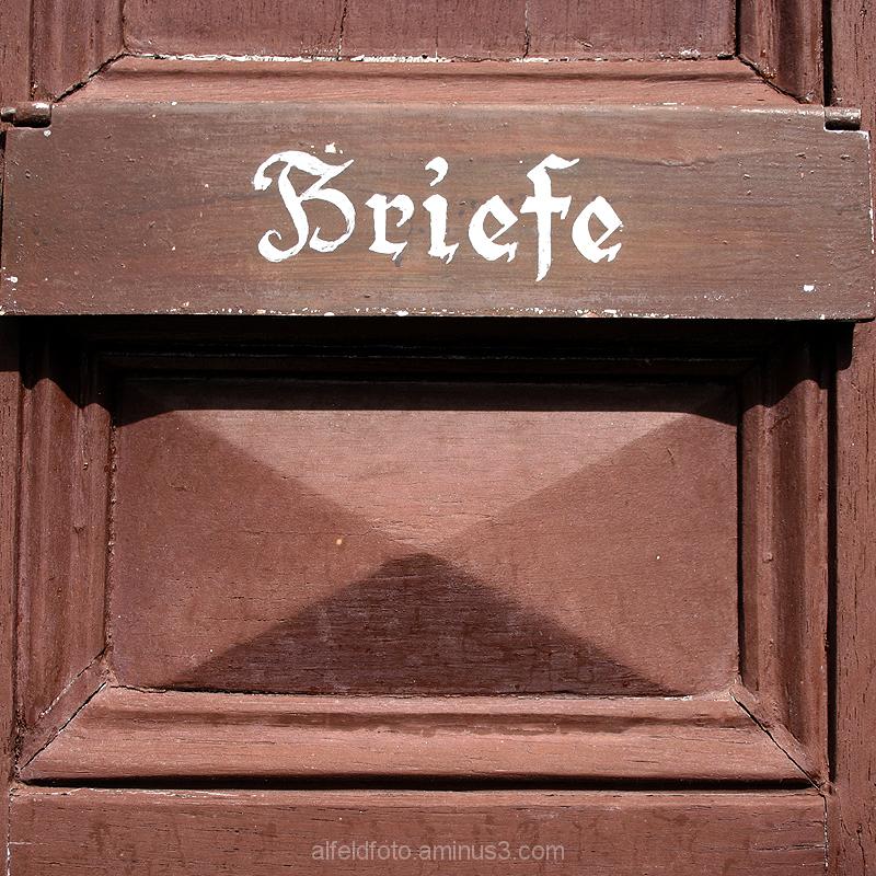 Briefkasten der Lateinschule, Alfeld