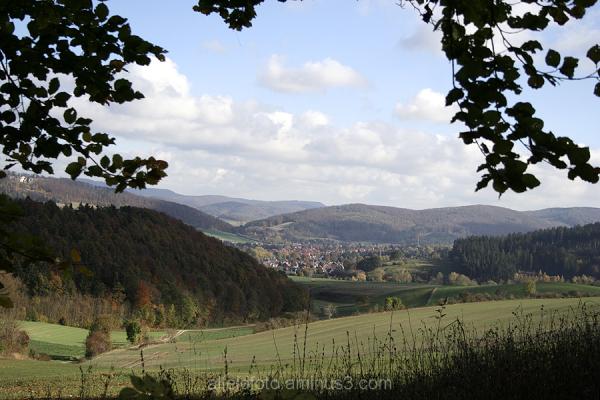 Schöne Aussicht im Leinebergland