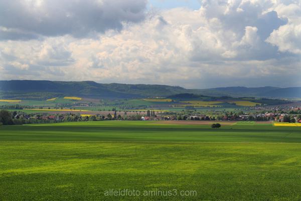 Blick vom Hildesheimer Wald