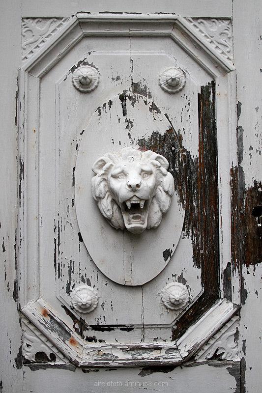 Tür, Schloss Wrisberholzen im Leinebergland
