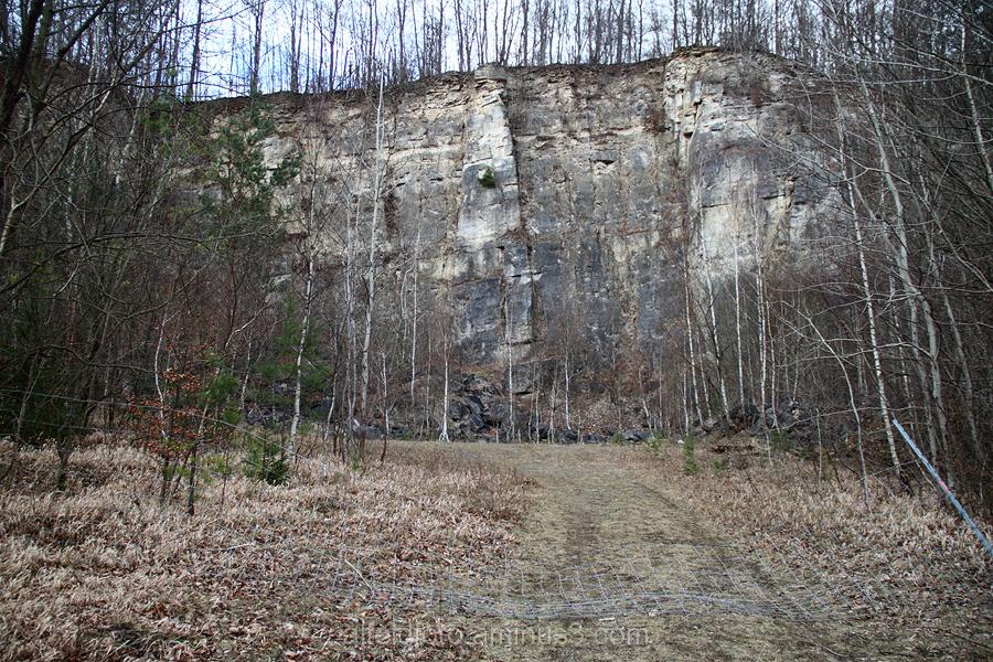 Steinbruch bei Brunkensen im Leinebergland