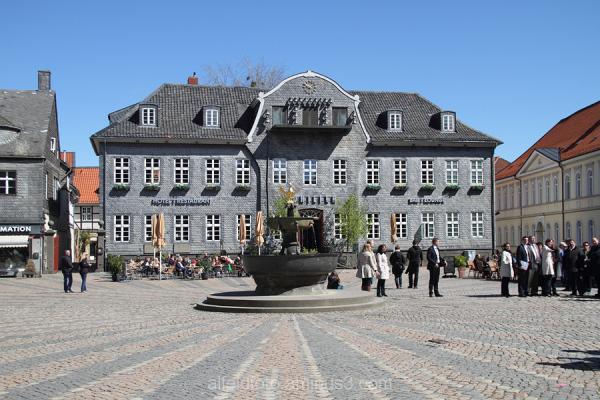 Ein Alfelder in... Goslar Marktplatz