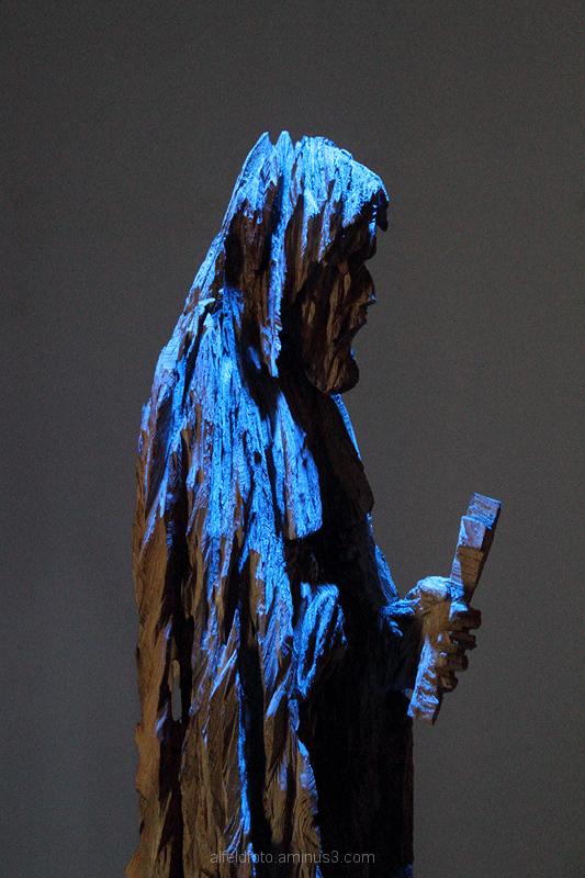 Skulptur von Oliver Plunkett im Kloster Lamspringe