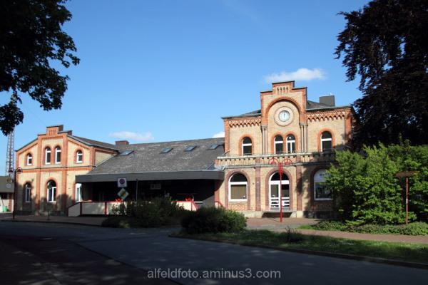 Der Bahnhof in Elze im Leinebergland
