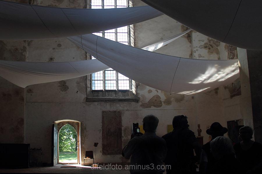 Ausstellung in der Wittenburger Kirche bei Elze