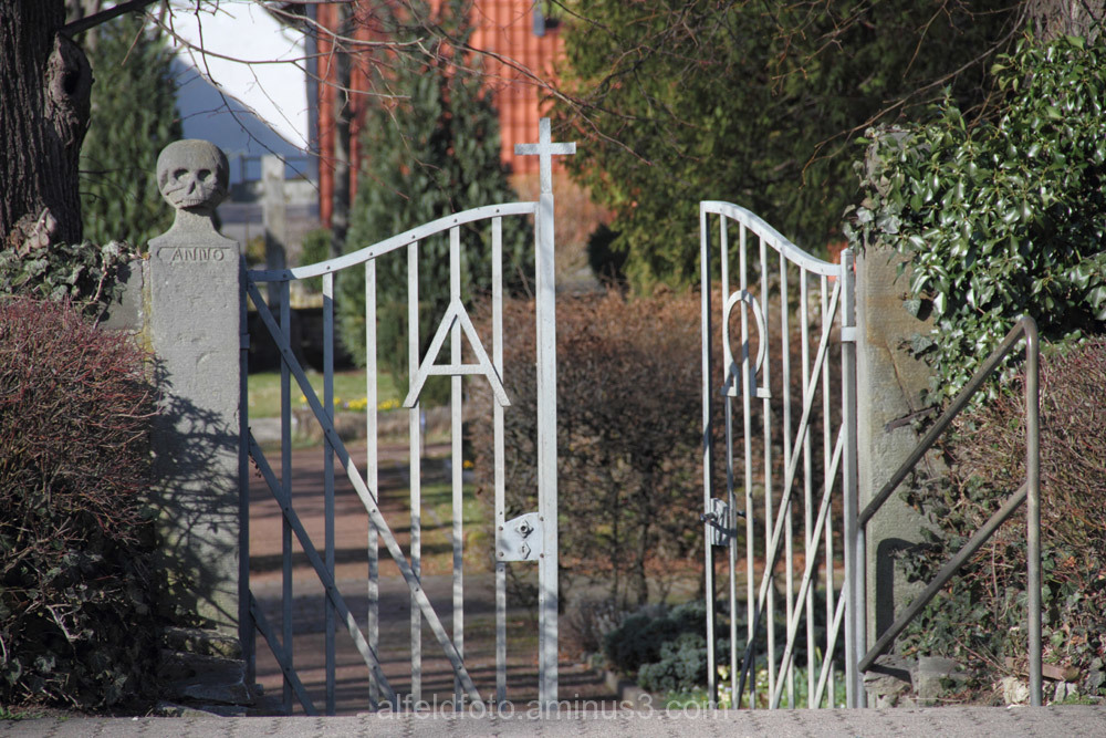 Eingang zum Friedhof, Gronau (Leine)