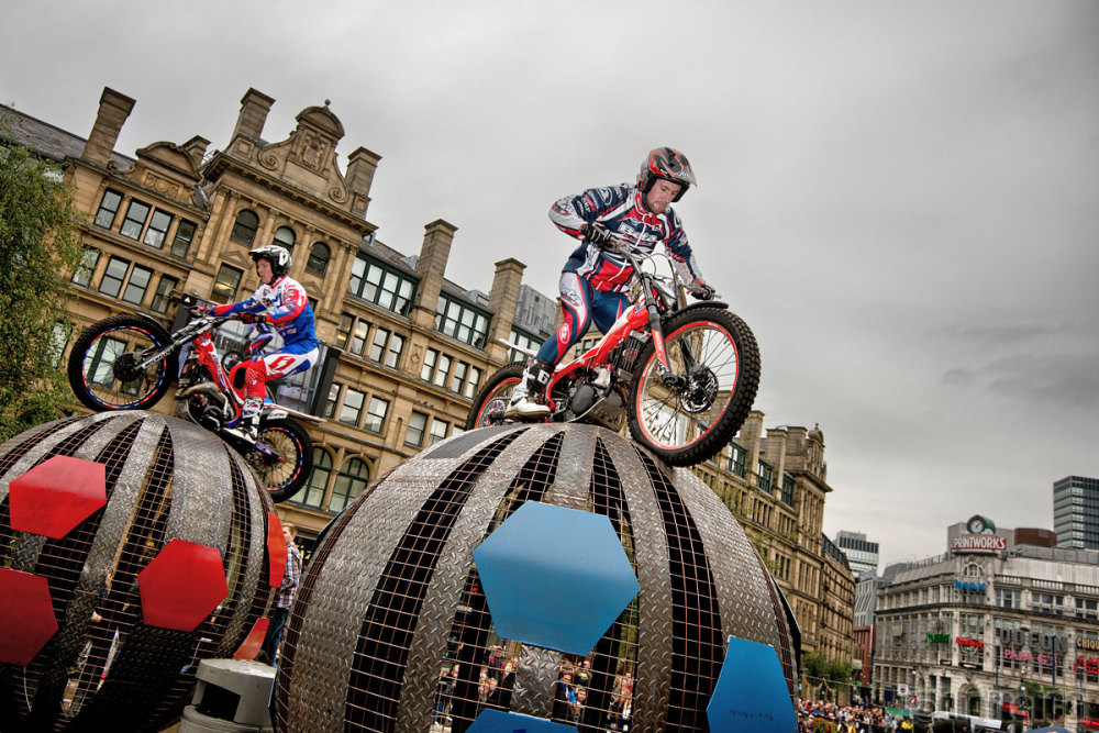 Red Bull City Trials, Manchester 2013