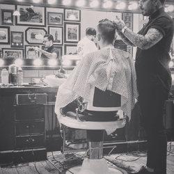 Waiting for a haircut