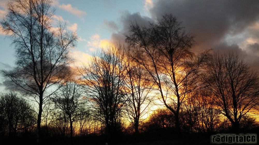 Sunset on 2015
