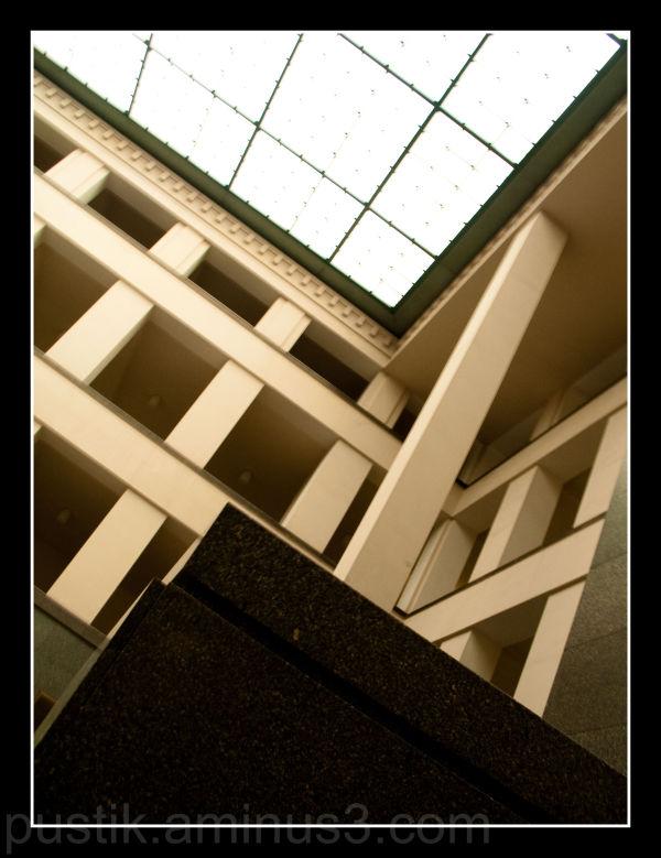 interior of Charles University in Prague