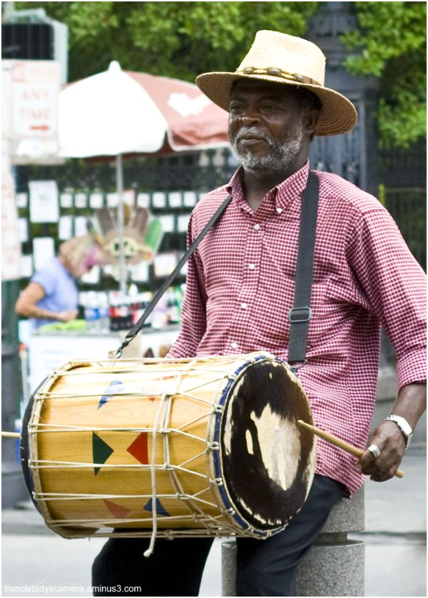 Musician at New Orleans, Francis Tady