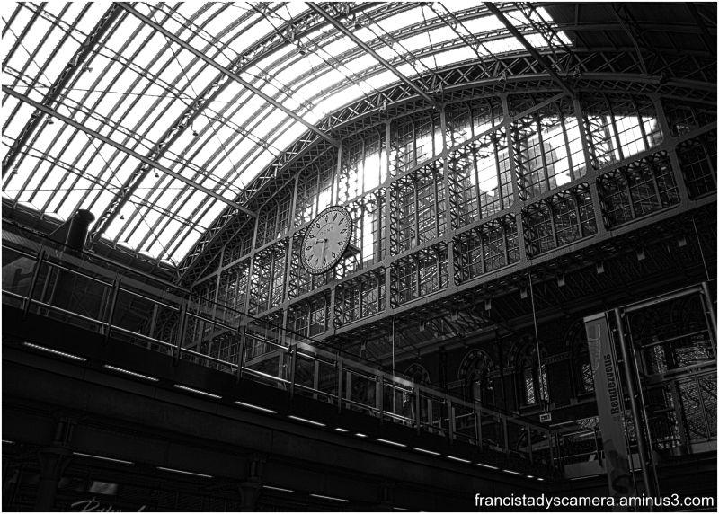 francis tady, st. pancras station, london, uk