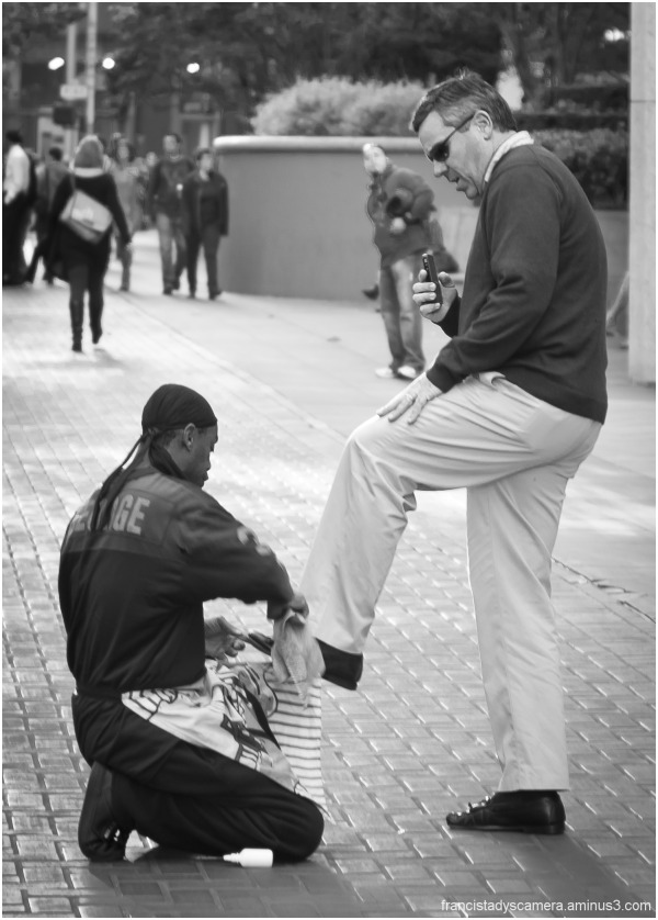Francis Tady, San Francisco, Street, Shoe Shine, M