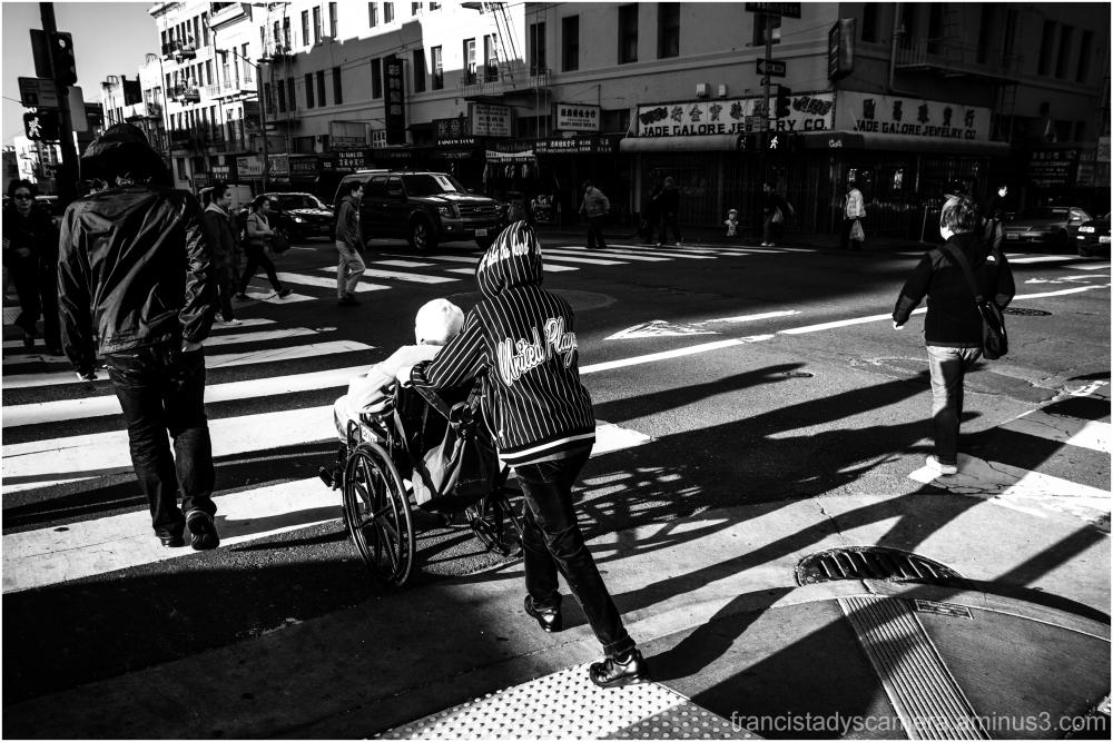 Francis Tady, SF Chinatown, SanFo, BW