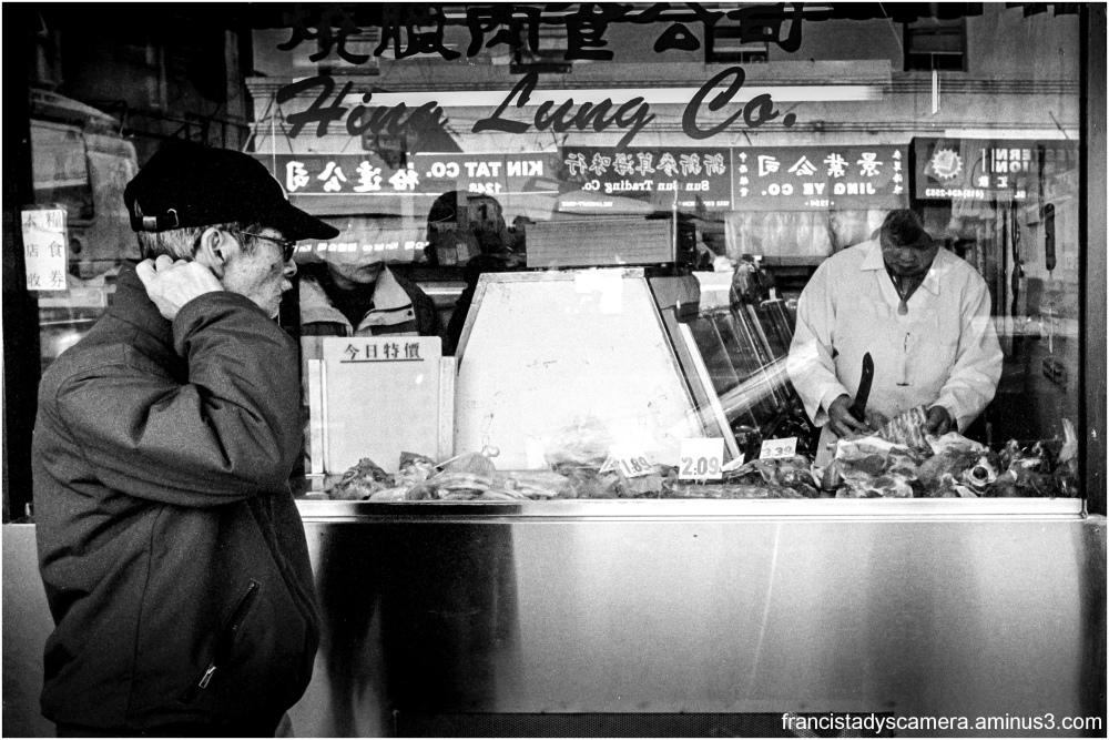 Francis Tady, China Town, San Francisco, USA