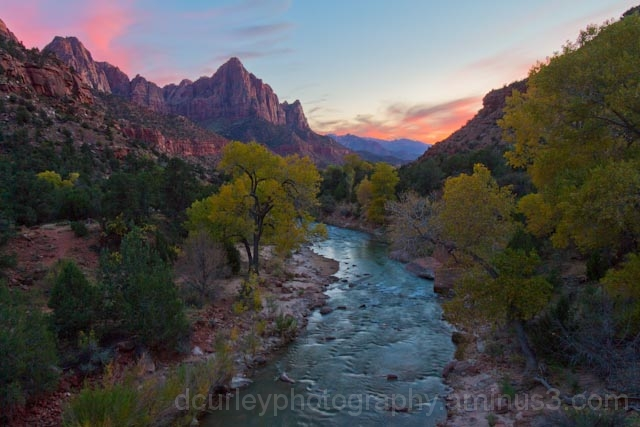 Zions Sunset