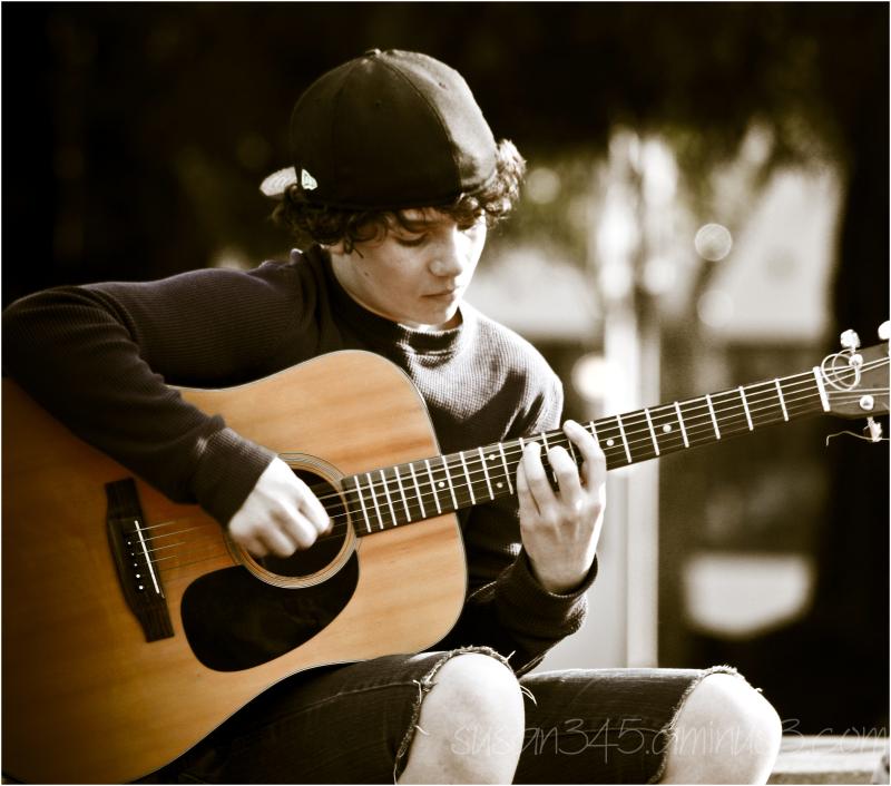 Plaza Musician