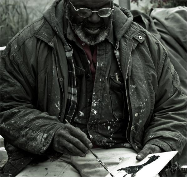 Street Artist and Gentle Man