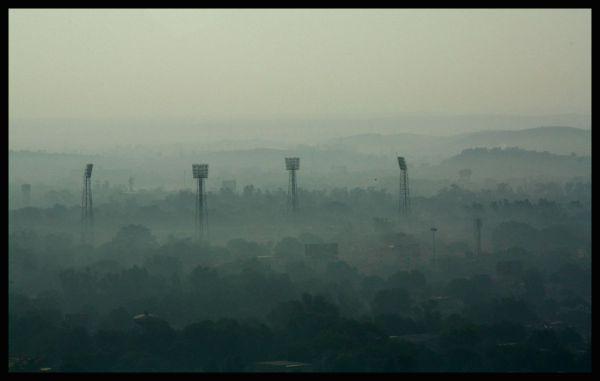 Roopsingh Rathod Cricket Stadium at Gwalior, India
