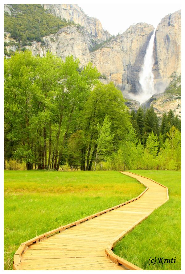 Yosemite Falls at Yosemite National Park