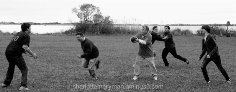 family feud football game bridgehampton b-w