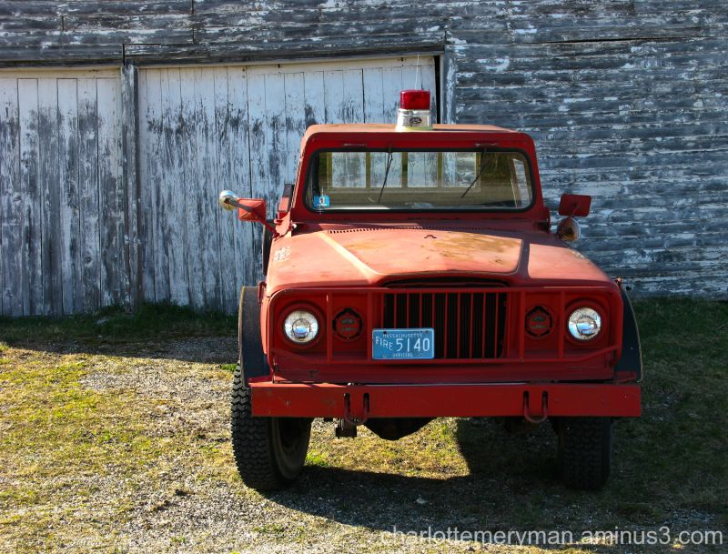 Goshen fire truck
