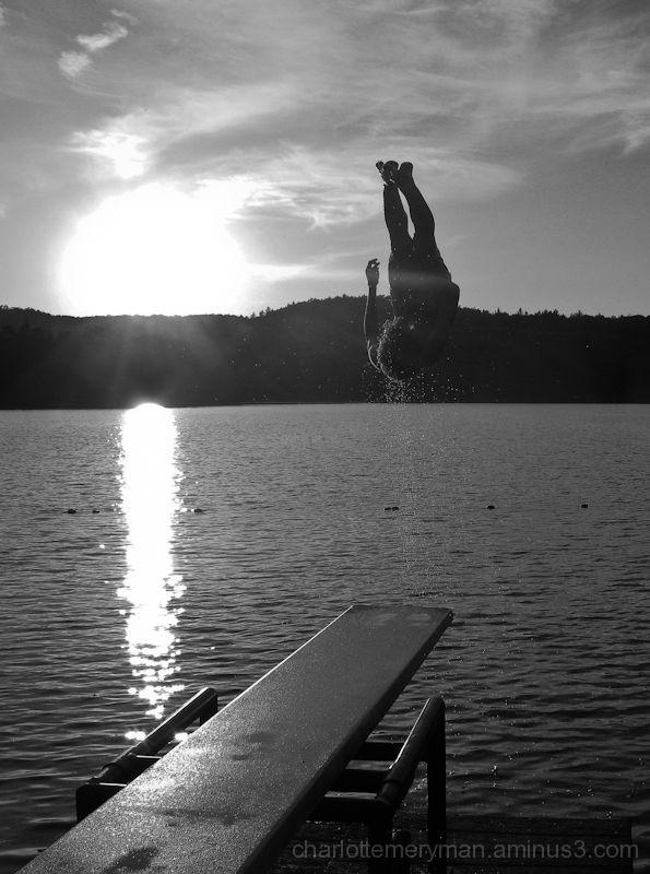 Summer at the lake, no. 1