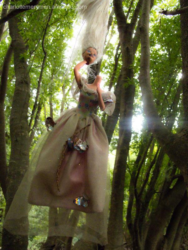 Flying Barbie