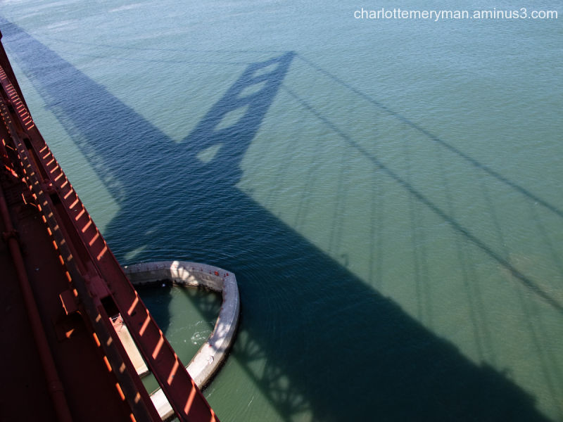 Golden Gate shadow