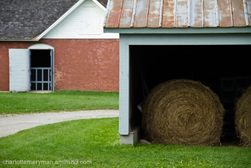 Stored bales