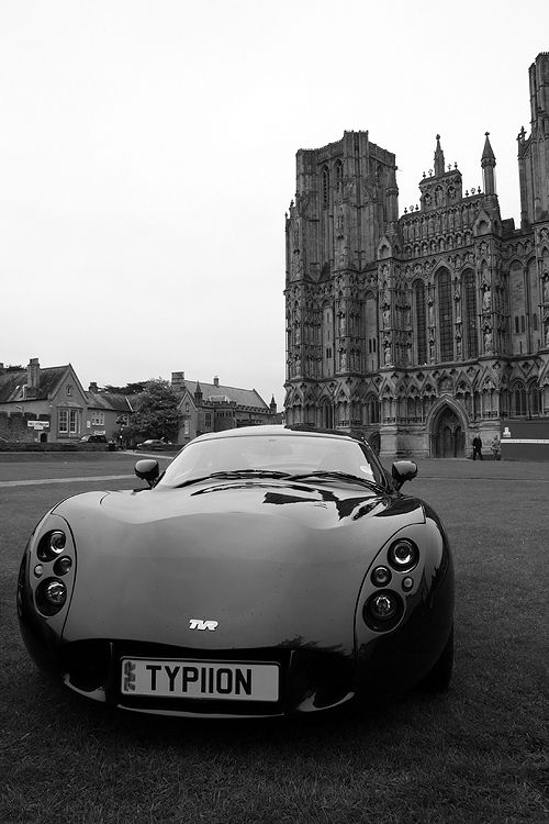 TVR at Wells cathedral