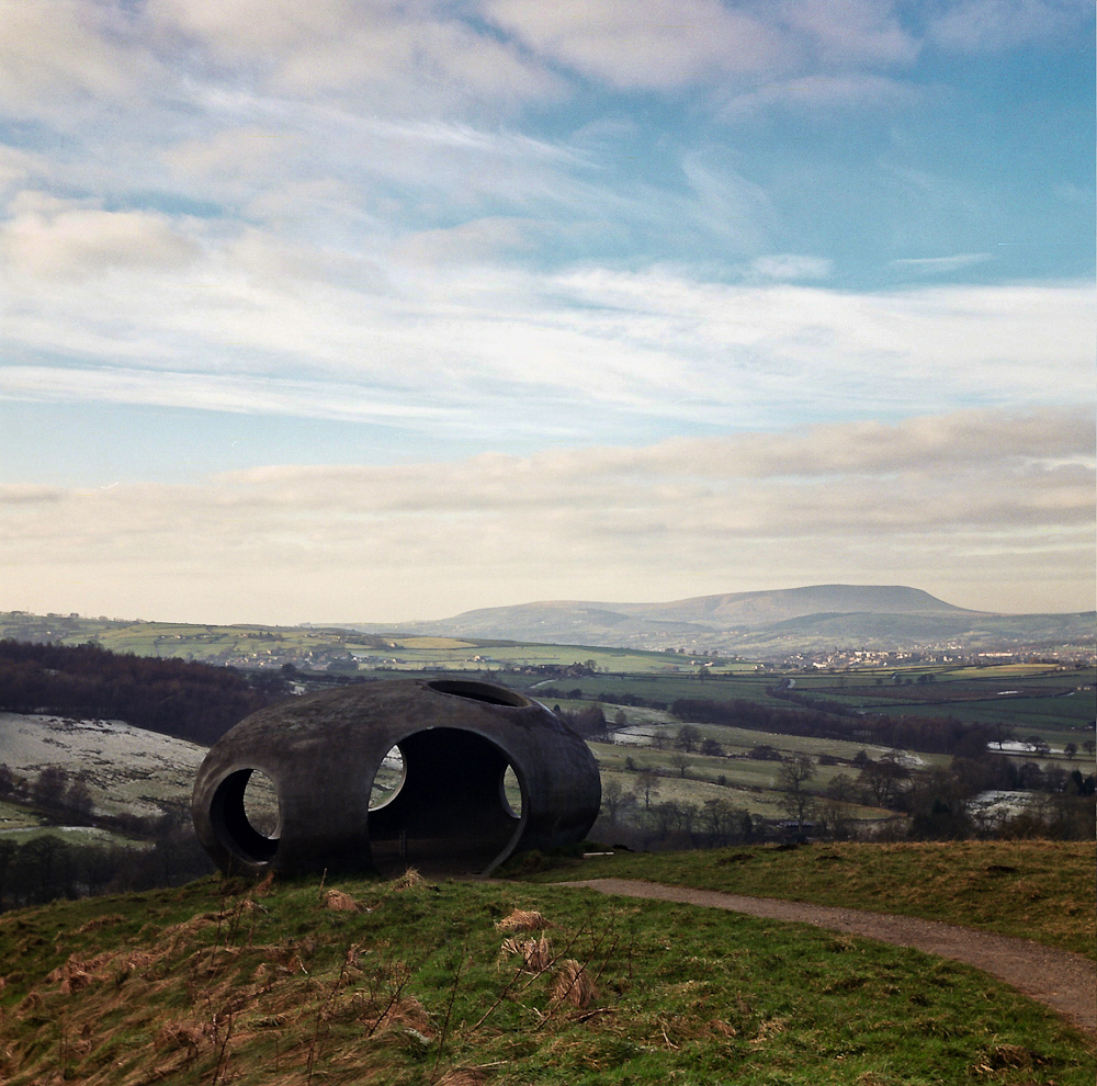 Pendle Hill from the Atom, Wycoller