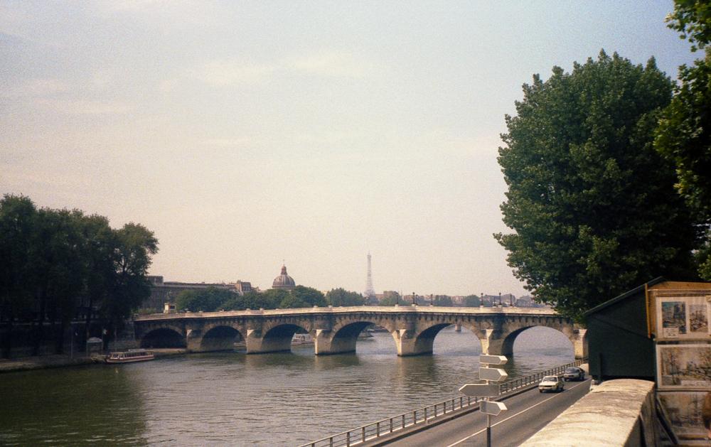 Pont Neuf, Paris, August 1980