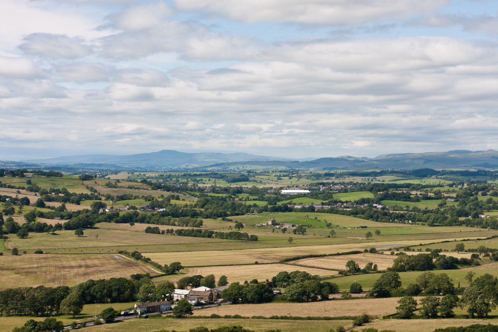 Looking north from Noyna Hill, Foulridge