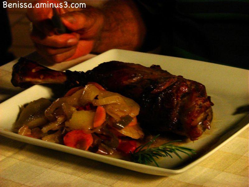 épaule d'agneau au restaurant CA LA IAIA