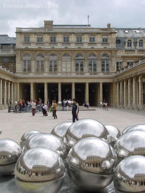 Fontaine à boules