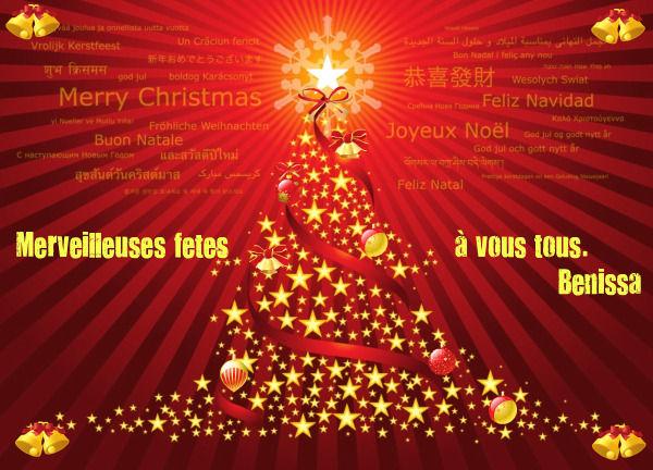 Joyeuses fêtes de Noël