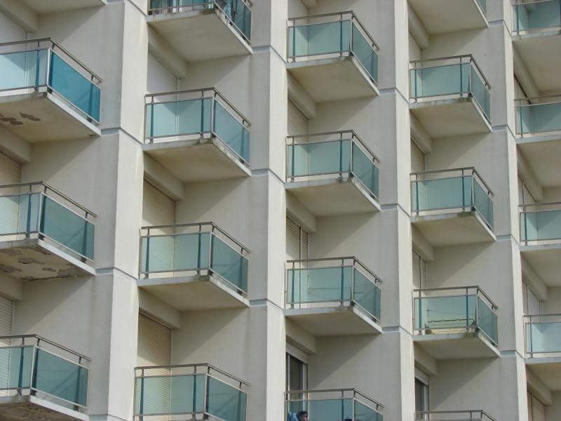 immeuble balcons Hardelot